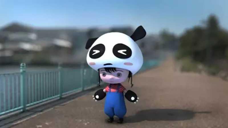 C4D制作超萌的卡通吉祥物模型