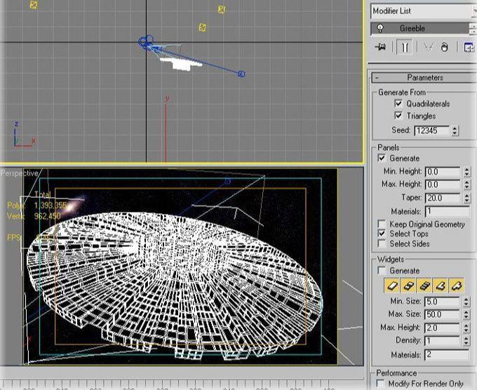 3ds Max制作科幻太空场景建模(4)