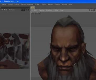 3dsmax手绘游戏模型贴图制作教程(6)