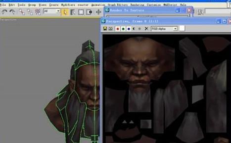 3dsmax手绘游戏模型贴图制作教程(7)