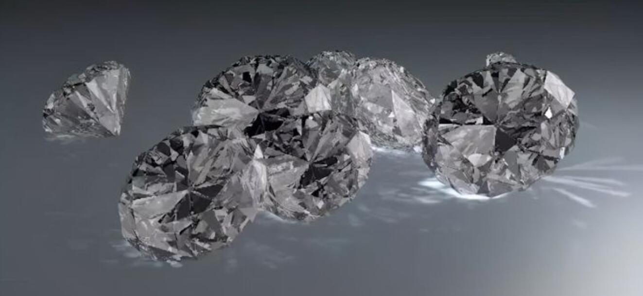 待改-C4D用材质和渲染焦散制作钻石建模