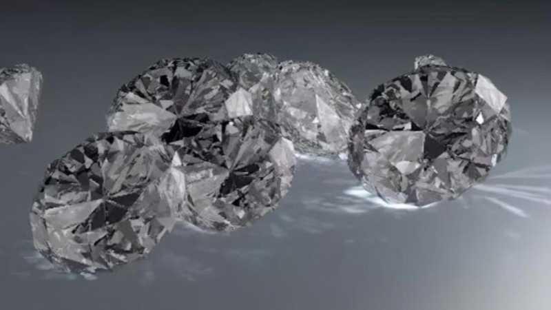 C4D用材质和渲染焦散制作钻石建模