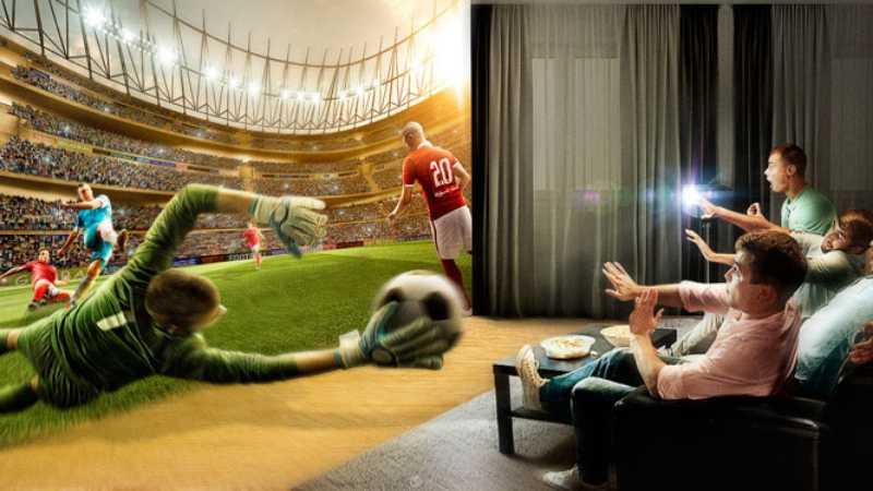 Photoshop合成VR为主题的足球宣传海报