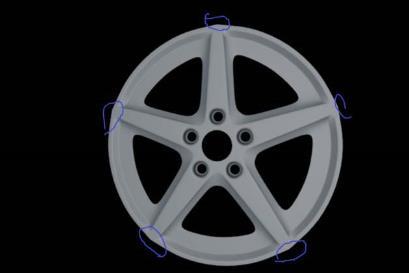 C4D汽车轮毂建模渲染方法(6)