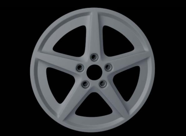 C4D汽车轮毂建模渲染方法