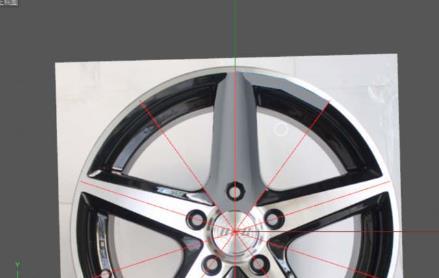 C4D汽车轮毂建模渲染方法(4)