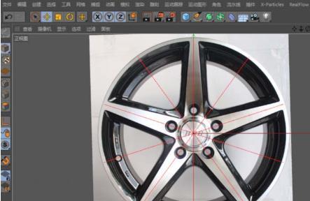 C4D汽车轮毂建模渲染方法(1)