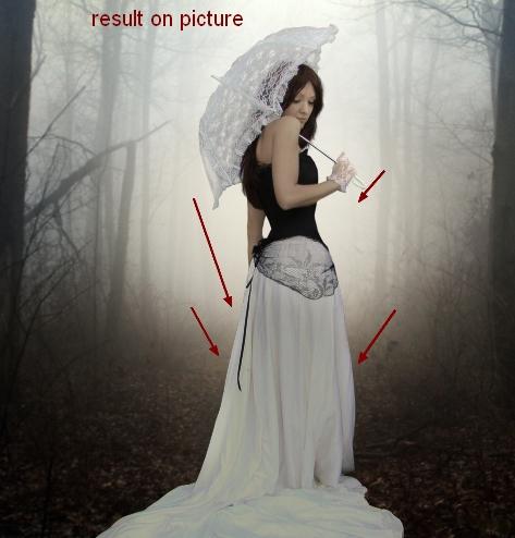 ps合成秋天树林中的美女场景(39)