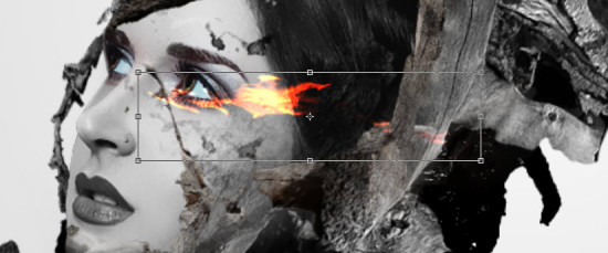 ps合成制作水墨风格图片(25)