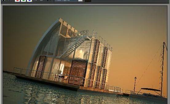 3dsmax海边房屋场景建模教程(58)