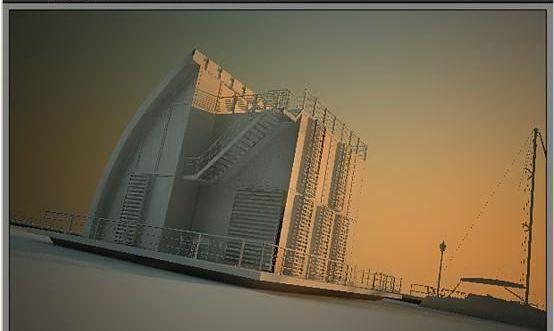 3dsmax海边房屋场景建模教程(46)