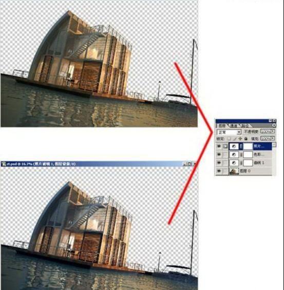 3dsmax海边房屋场景建模教程(70)