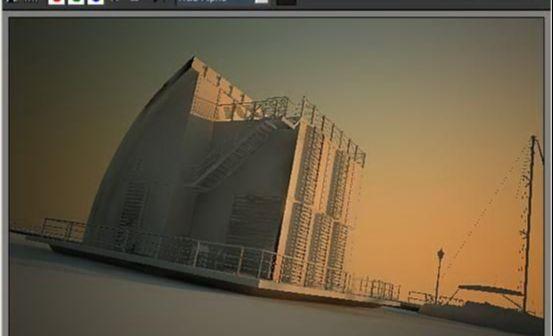 3dsmax海边房屋场景建模教程(42)
