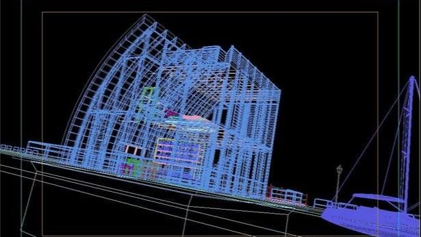 3dsmax海边房屋场景建模教程(7)