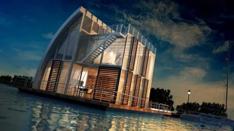 3dsmax海边房屋场景建模教程