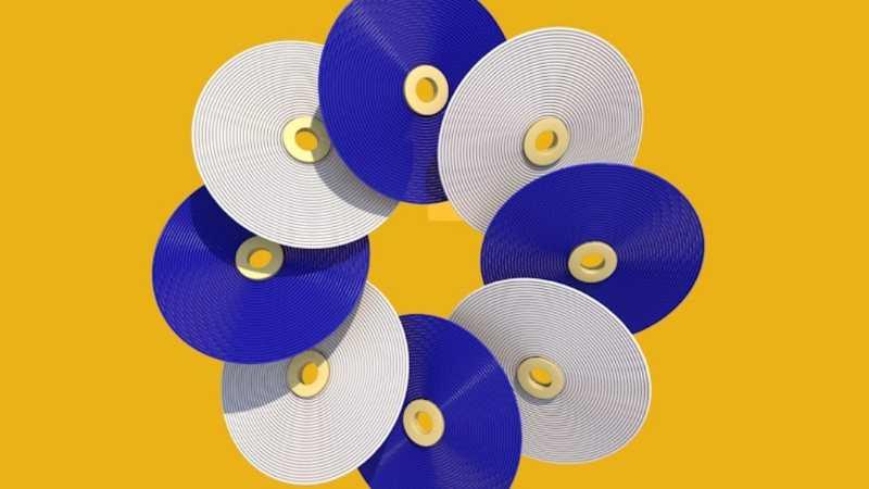 C4D用螺旋渲染制作简单的螺旋圆盘