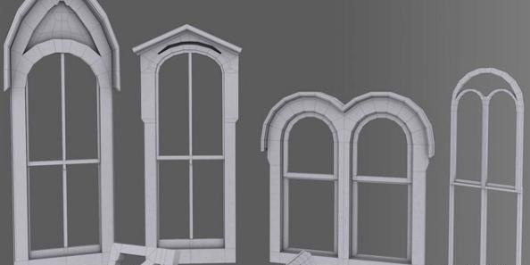 3dsmax时光雕琢的古老建筑建模(2)