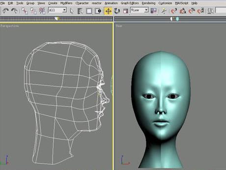 3dsmax角色头部建模教程(8)