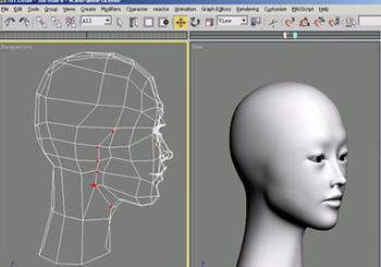 3dsmax角色头部建模教程(9)