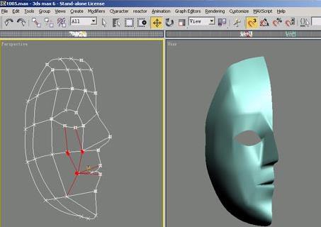 3dsmax角色头部建模教程(3)