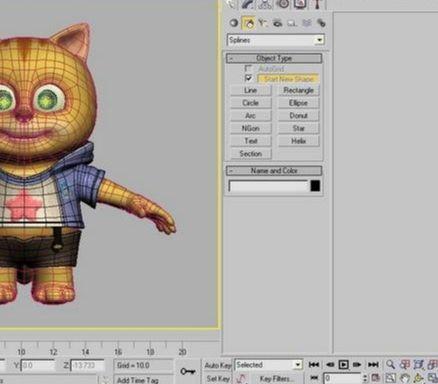 3dsmax绘制童话色彩的动画片教程(5)