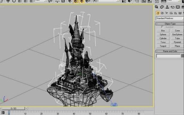 3dsmax绘制童话色彩的动画片教程(8)