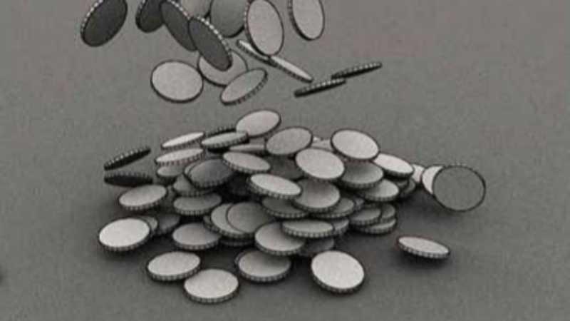 3DS MAX制作硬币堆栈动画教程