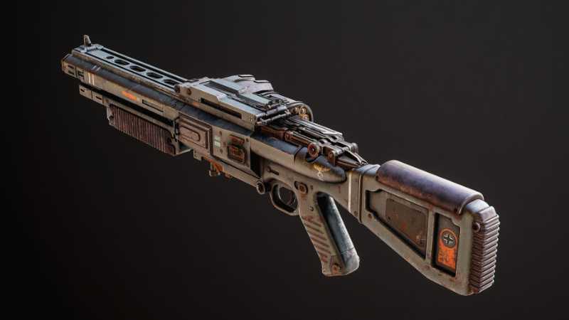 如何使用3dsMax制作枪模型
