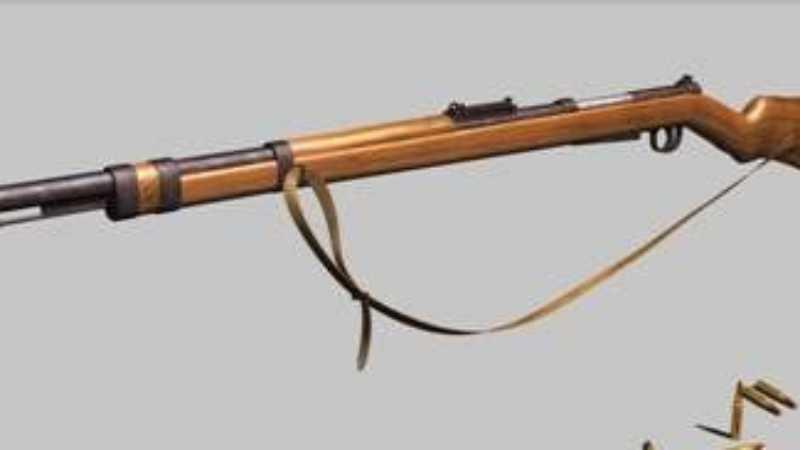 3D MAX使用放样建模方法给步枪建模